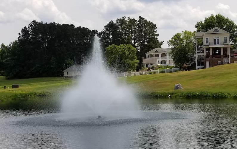 Fountains Maintained & installed by Pond Lake Management