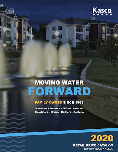 Kasco Fountains installed by Pond Lake Management