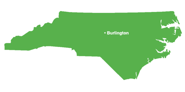 Burlington North Carolina Ponds and Lakes serviced by Pond Lake Management