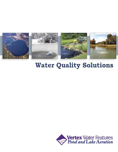 Vertex Aerator Systems installed by Pond Lake Management