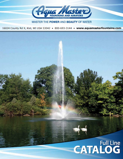 Aquamaster Fountains installed by Pond Lake Management