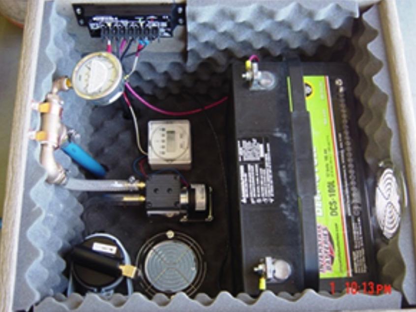 Solar Power Aeration Battery Back Up