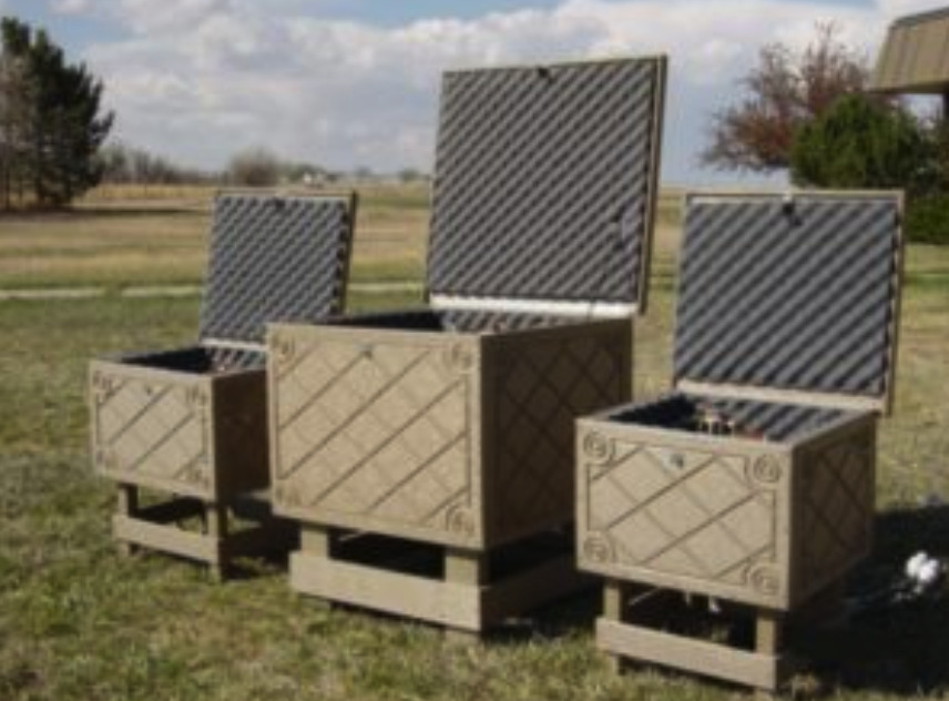 Solar Powered Aeration Battery Storage