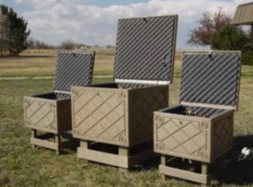 Solar Powered Aeration Battery Storage