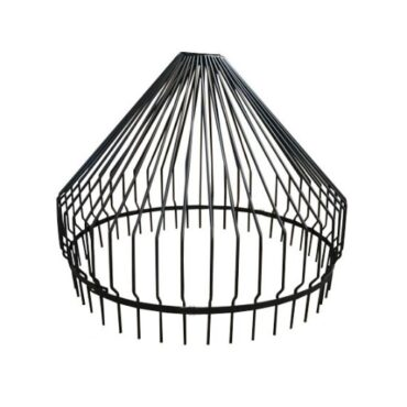 """Black Pond or Lake Intake Bar Guard 48"""" to help protect pond intakes from trash and vegetation"""