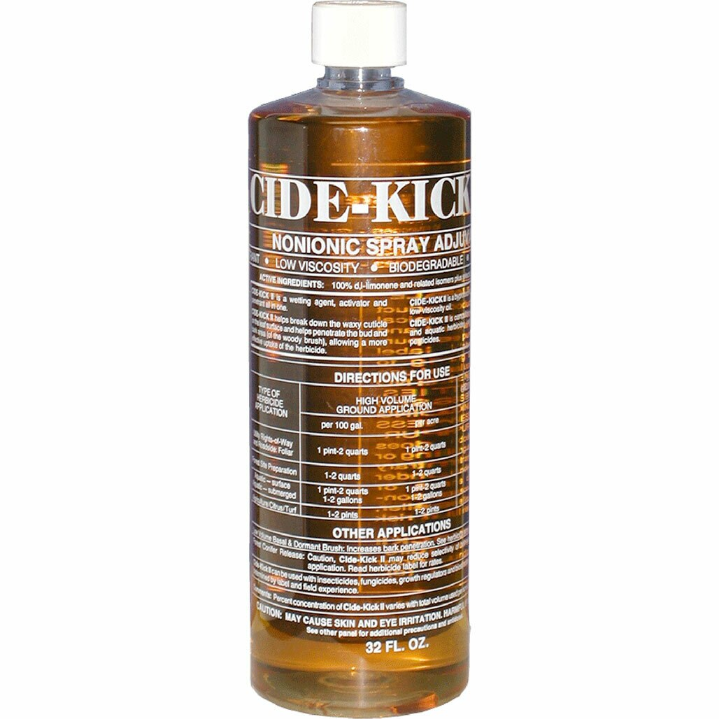 Cide-Kick II is a wetting agent, sticker, activator and penetrant all in one.