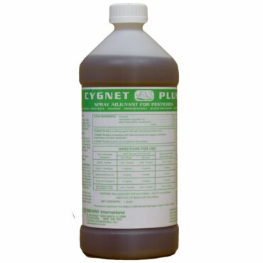 Cygnet Plus is a non-ionic sticker, penetrant, wetter, and surfactant all in one product
