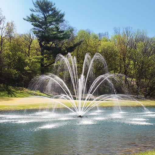 Premium Pond Fountain Nozzles from Kasco Marine