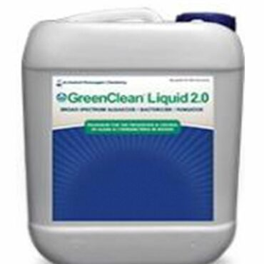 GreenClean Liquid 2.0 is an algaecide/bactericide which uses a stabilized hydrogen peroxide paired with peroxyacetic acid to create a potent oxidation reaction to quickly break down algae cell walls.
