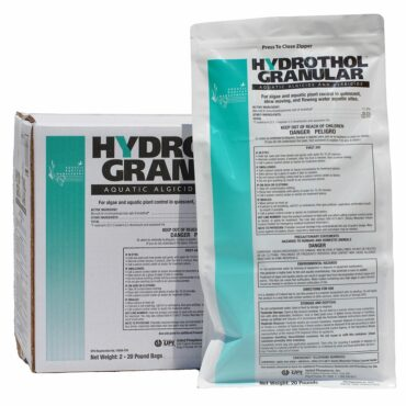 Hydrothol 191 Granular: Is a highly effective granular algaecide and herbicide.