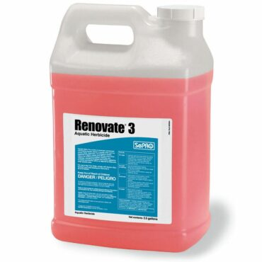 Renovate 3 rapidly enters through the target plant's leaves and stems, interfering with plant metabolism, and providing systemic control of susceptible plant species.