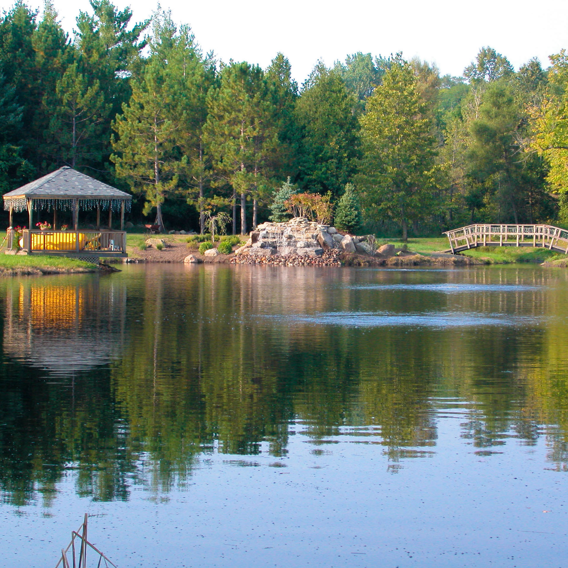 Diffused Pond Aeration from Pond Lake Management