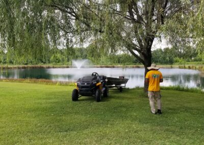 Qualified Technicians from Pond Lake Maintenance