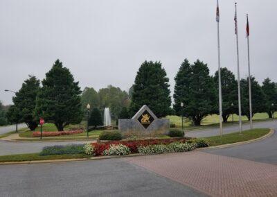 Fountain at Grandover Resort In Greensboro, NC